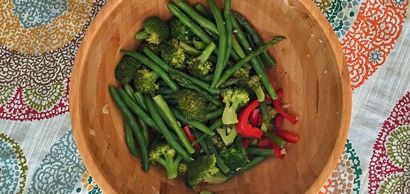 Vegetales Verdes Salteados